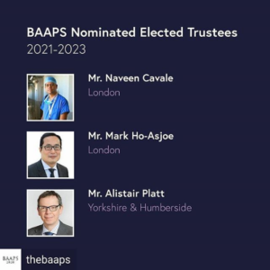 MR. MARK HO-ASJOE ELECTED TO THE BAAPS COUNCIL
